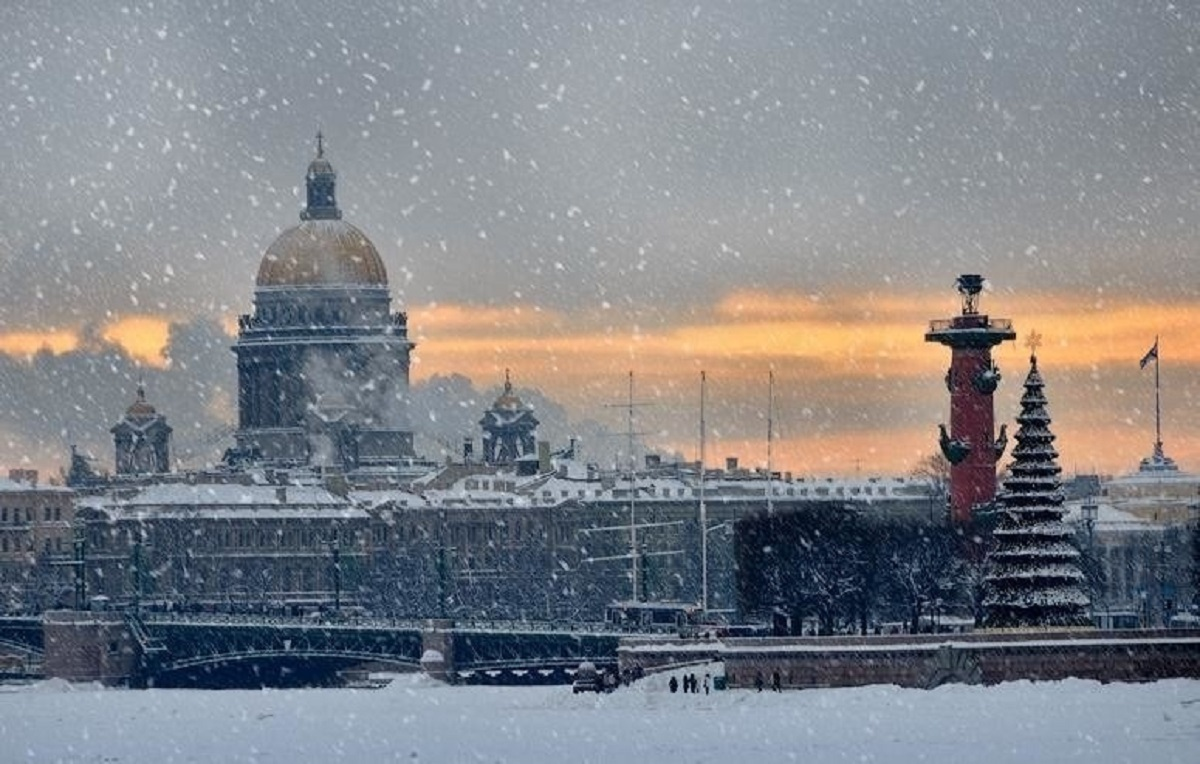безумно снег в питере сегодня фото остановился
