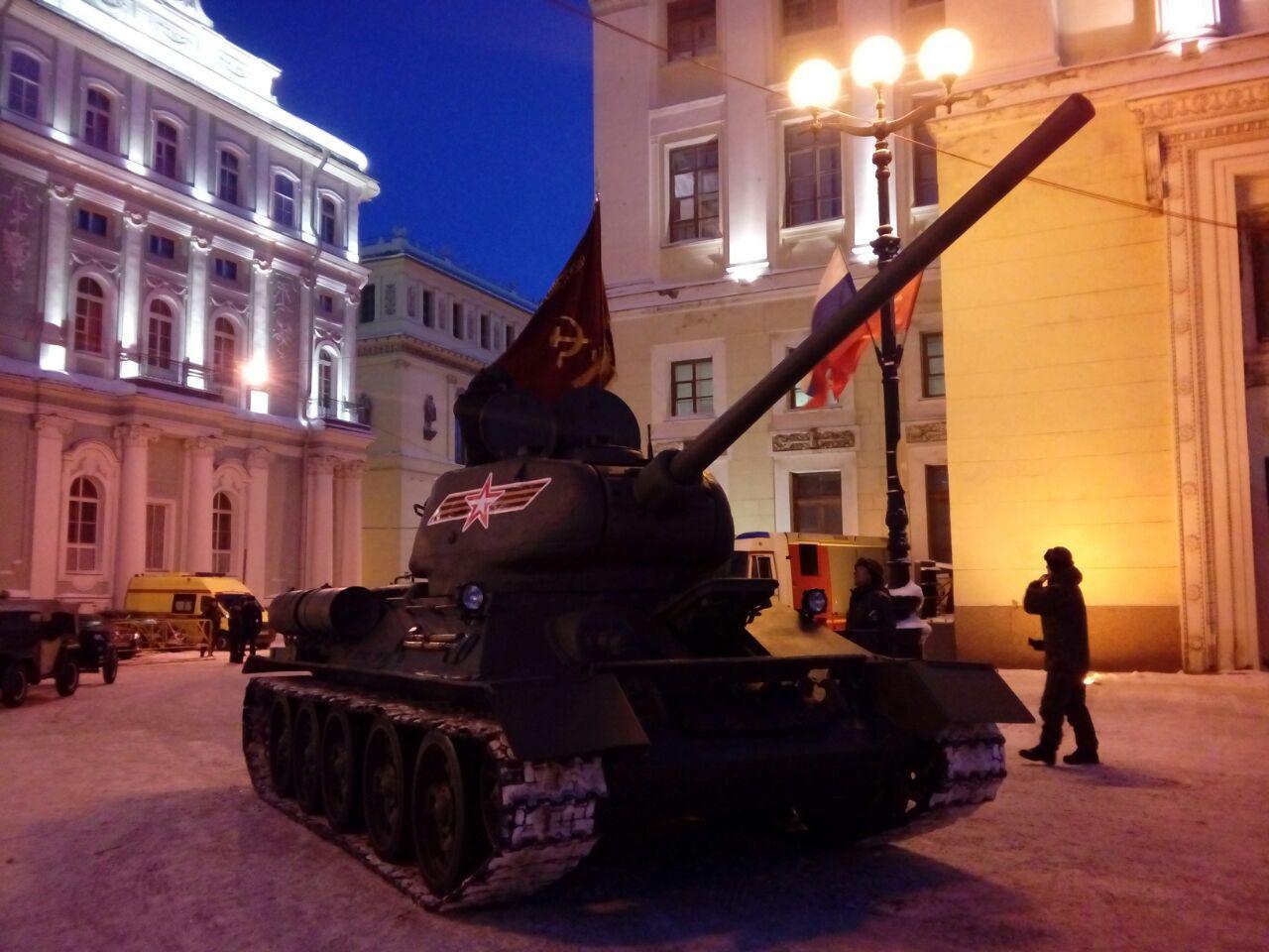 фотосессия на танках в спб так должна выглядеть