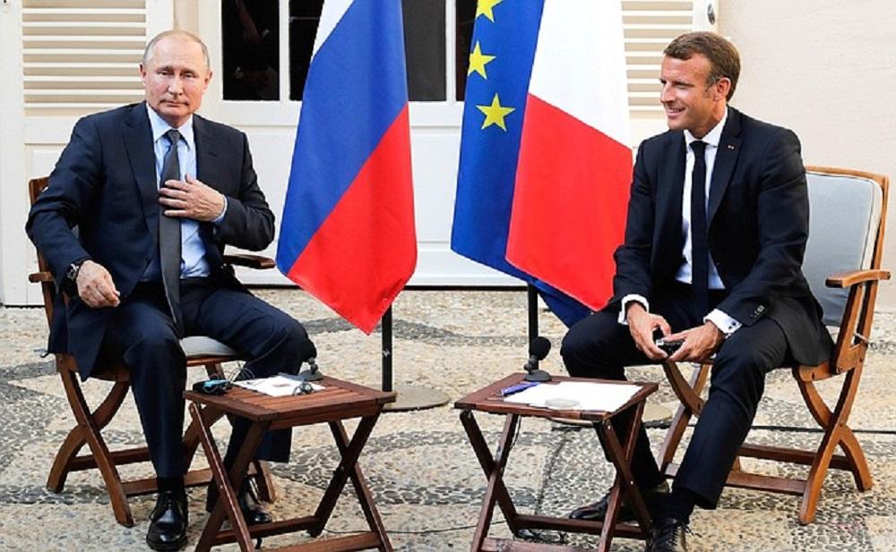 Путина во Франции пытались подколоть вопросом про протесты в Москве