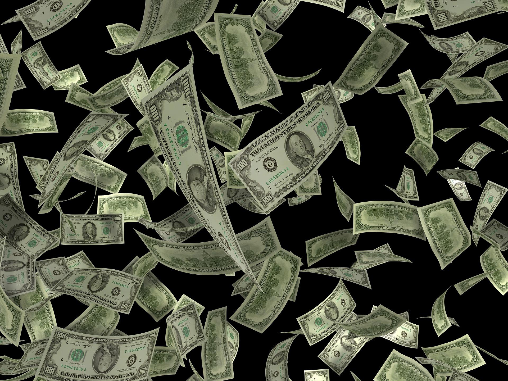 фоновая картинка доллары кто-нибудь пробовал крепить