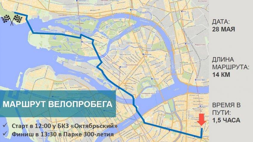 ВПетербургском велопараде поучаствовали 15 тыс. человек