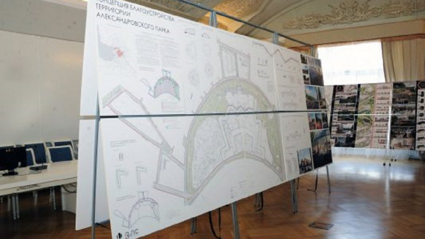 Александровский парк преобразится попроекту ГАСУ