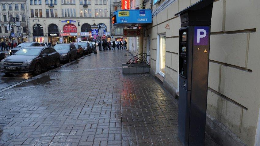 Вопрос онеоплате парковки вПетербурге будут решать в столице