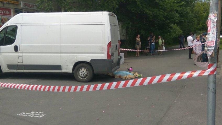 ВПетербурге шофёр фургона сбил насмерть 2-летнего ребенка