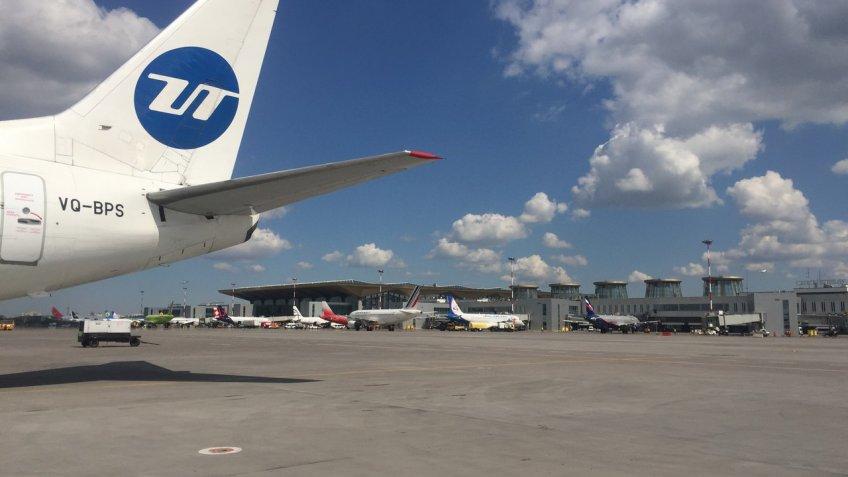 Рейс UTair изПетербурга в столицу Российской Федерации схвачен неменее чем на8 часов