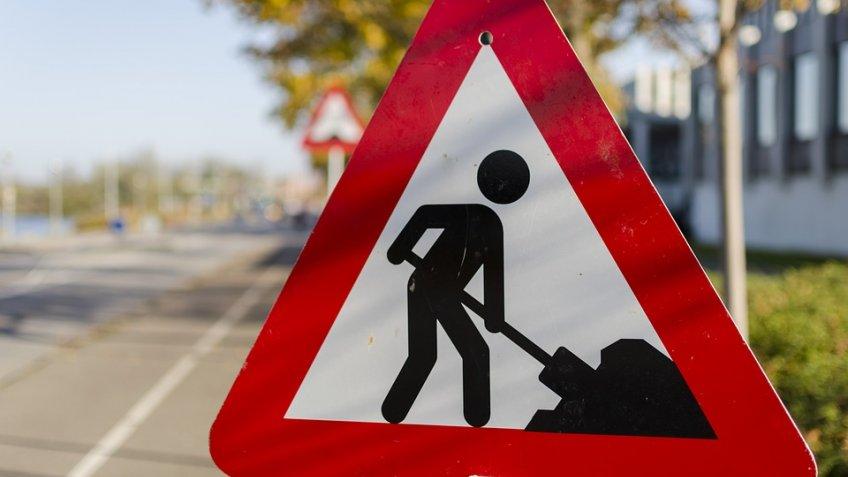 Дорожные работы ограничат движение в 3-х  районах Петербурга