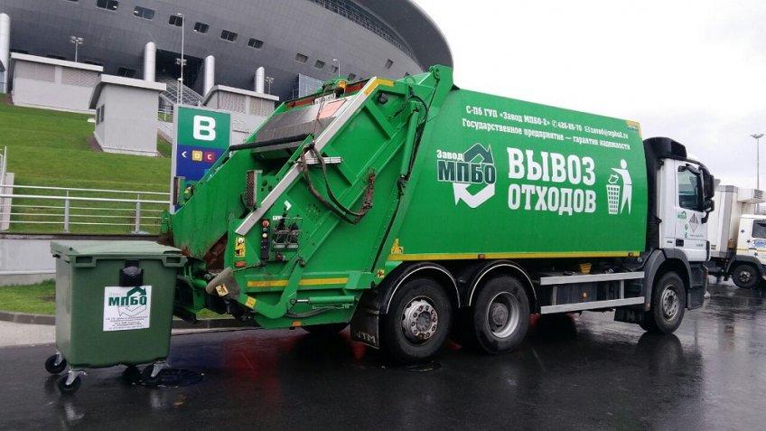 После открытия Кубка конфедераций сКрестовского острова вывезли 180 кубометров мусора