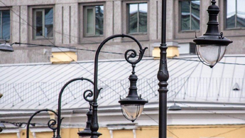 Наулице Некрасова обновили уличное освещение