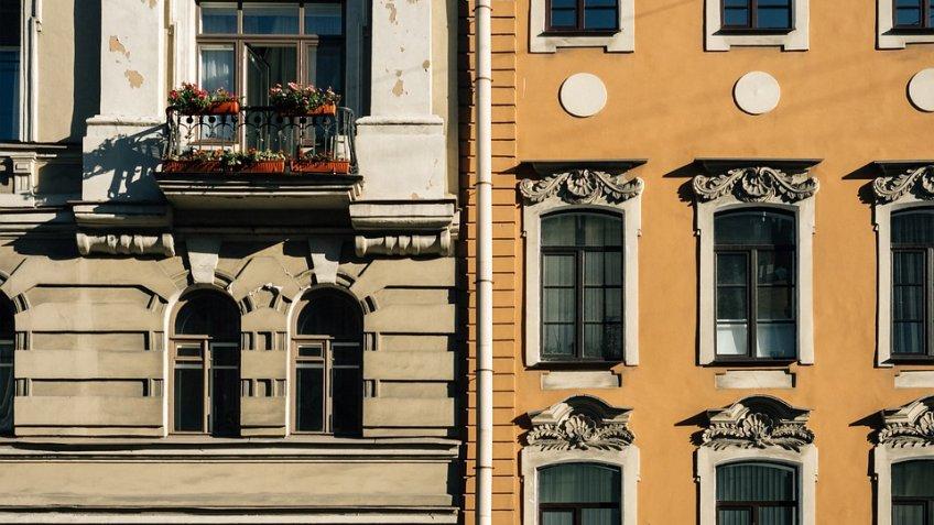 ГАТИ оштрафовала собственников зданий загрязные фасады