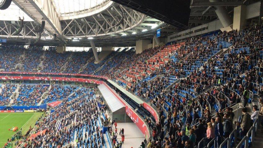 Русские футболисты завершили свое выступление наКубке конфедераций