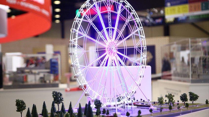 Петербуржцам посоветовали выбрать, где появится 170-метровое колесо обозрения— Санкт-Петербург
