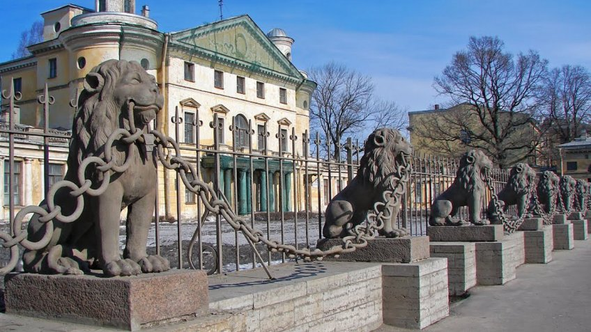 «Протез» отыскали уодного изльвов дачи Кушелева-Безбородко