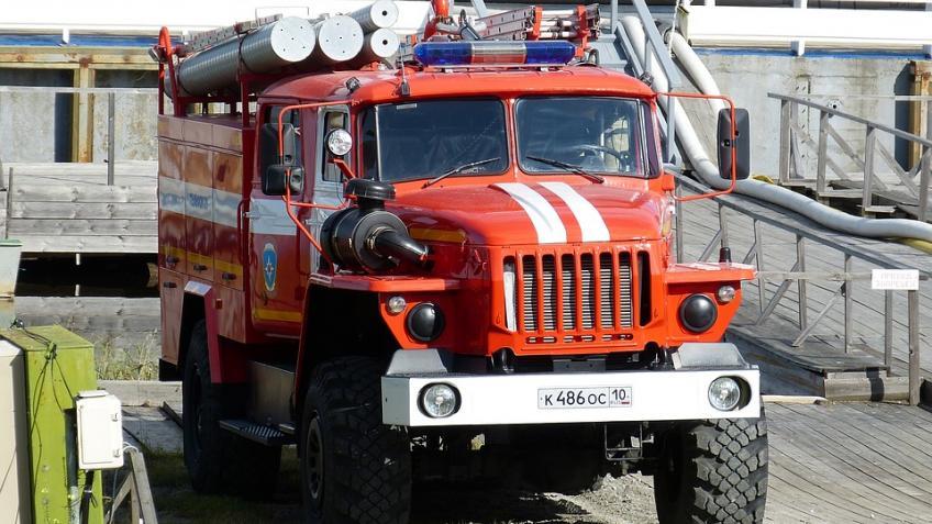 Изпожара наБабушкина эвакуировали человека
