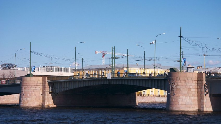 Тучков мост закроют надве ночи