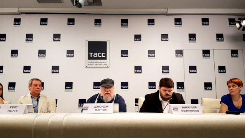Автор «Игры Престолов» Джордж Мартин отказался отвечать навопрос про В.Путина 160