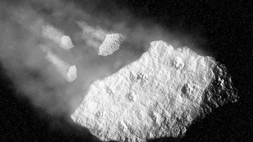 NASA показала анимацию сприближением астероида Флоренс кЗемле— Астероид
