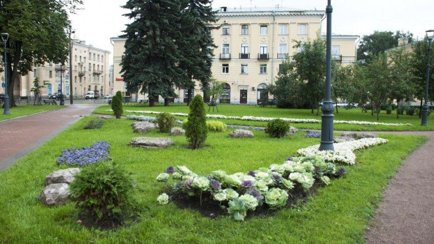 ВПетербурге выбрали самые лучшие местные сады