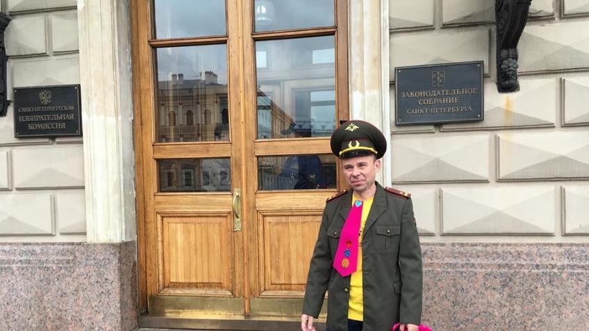 ВПетербурге депутата ЗакСа непустили вМариинский дворец вклоунском галстуке