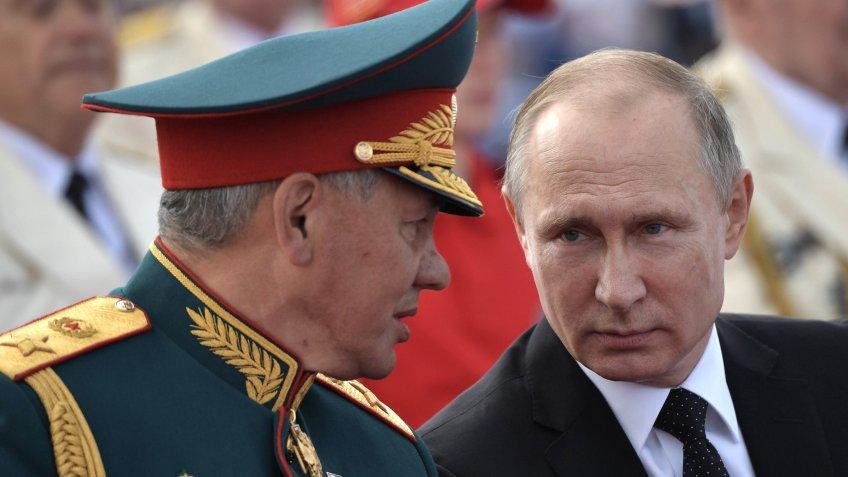 Путин прибыл вЛенинградскую область научения «Запад-2017»