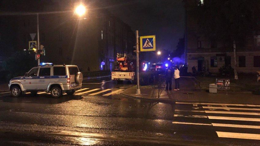 Женщина сгорела вПетербурге вмагазине белорусских товаров
