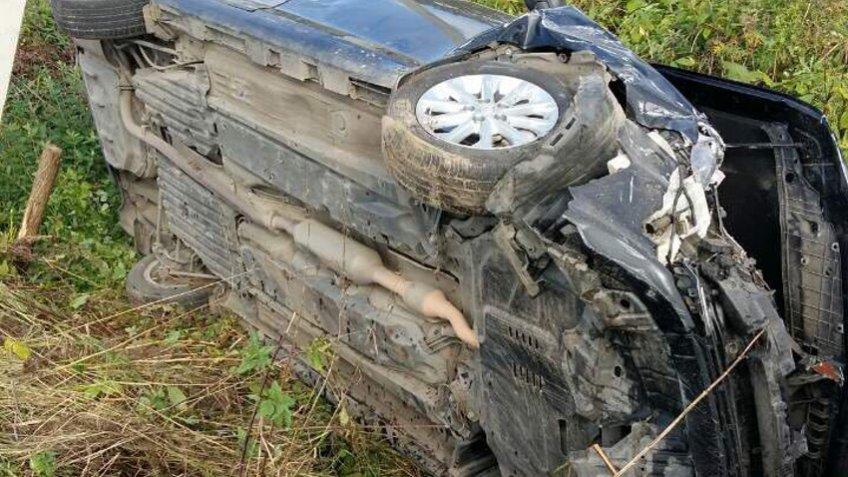 ВДТП под Кировском «ВАЗ» протаранил иномарку: есть пострадавшие