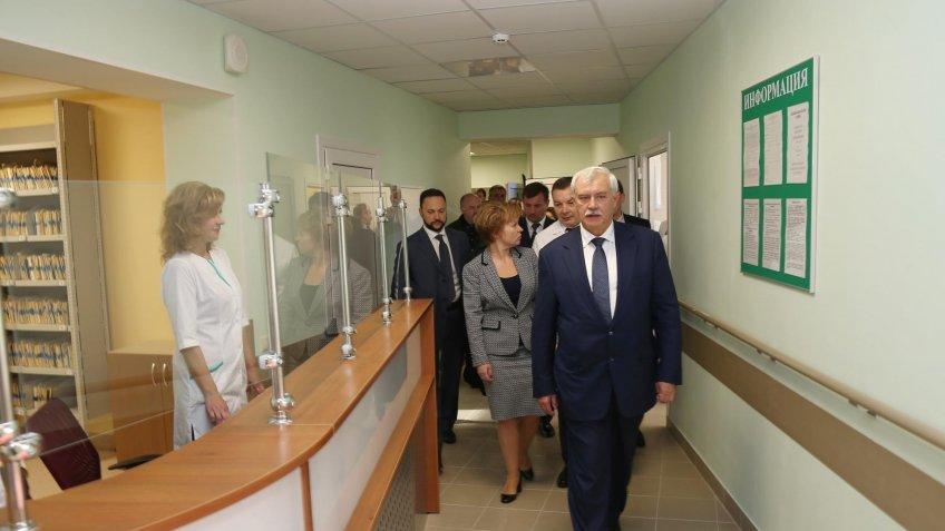 Вветеранском госпитале Петербурга открыли отделение для пострадавших отрадиации