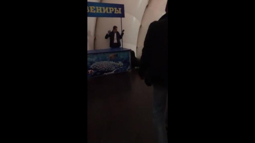 Морской котик, который сумел: Барик ночью задержал правонарушителя вдельфинарии