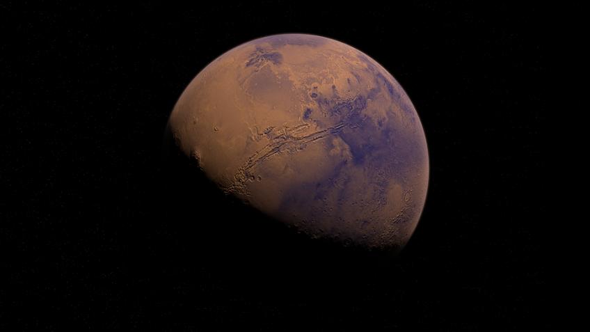 NASA засняло наМарсе мощнейшее вистории сияние