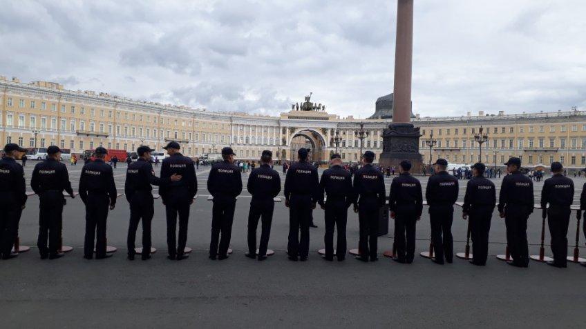 Генпрокуратура Петербурга предупредила организаторов несогласованной акции вгороде о несоблюдении закона
