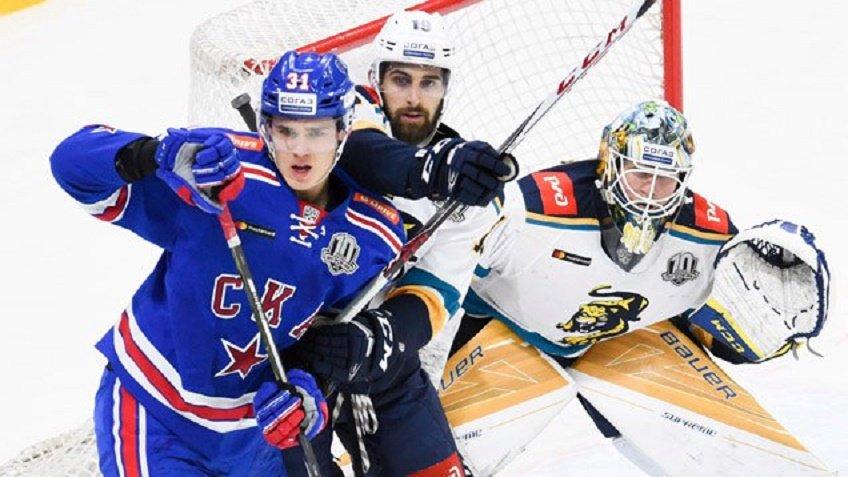 СКА впервый раз  за21 матч проиграл всезоне КХЛ