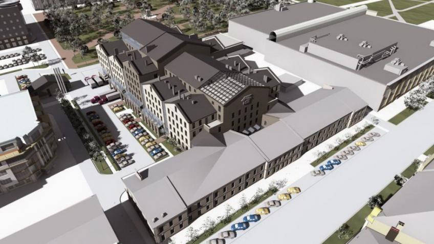 ВПетербурге определились сточной датой постройки нового здания Театра Европы