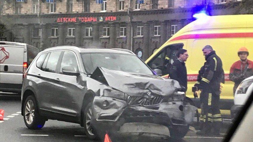 В северной столице вДТП пострадали два человека