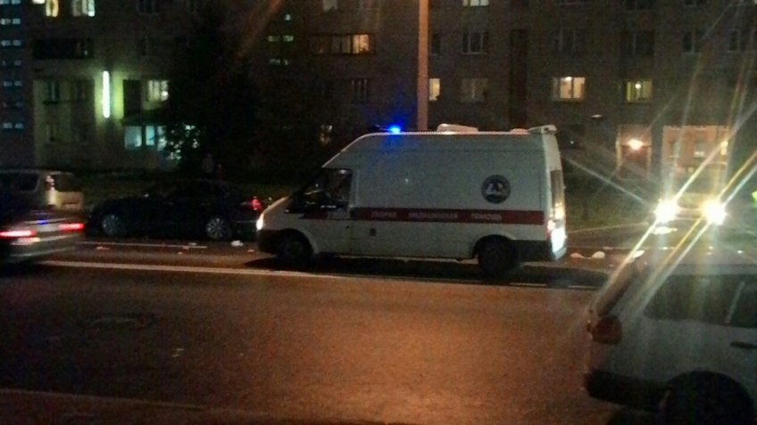 Скорая помощь сбила наВаршавской улице пенсионерку