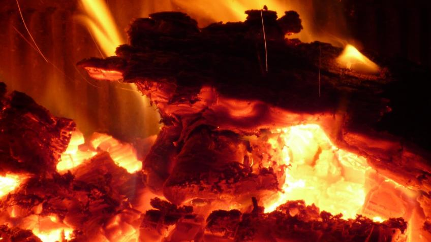 При пожаре под Волховом погибла престарелая женщина, испугавшаяся высоты