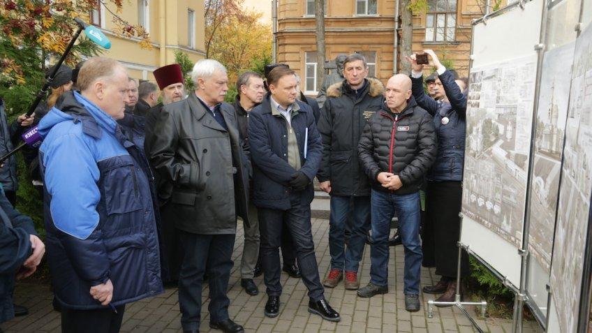 Полтавченко обозначил потребность возведения 2-го съезда сКАД кКронштадту