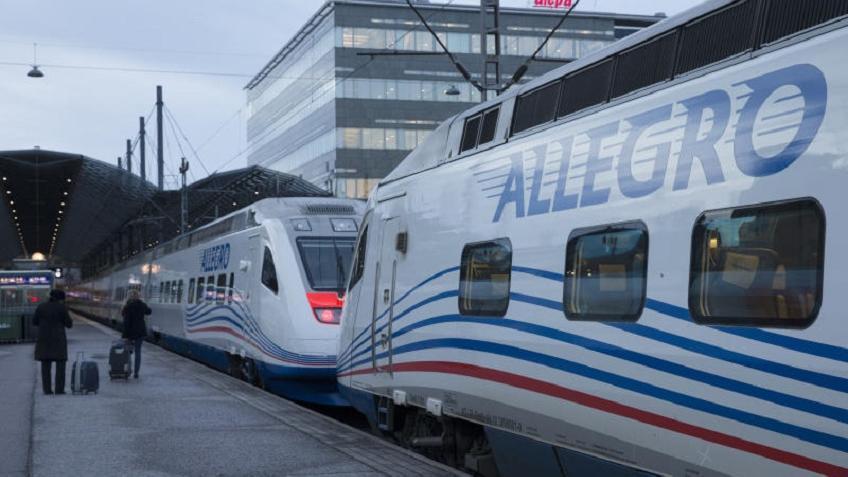 Два рейса экспресса «Аллегро» между Хельсинки иПетербургом отменили