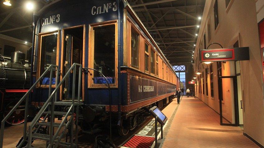 ВПетербурге открылся крупнейший Музей железных дорог