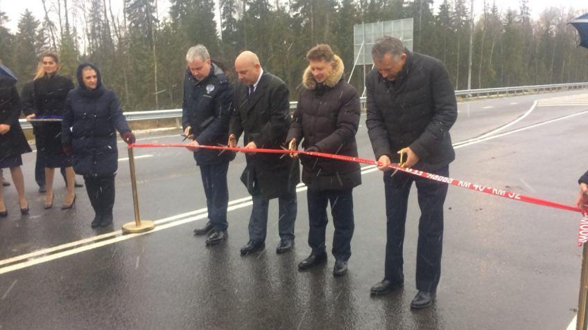 Завершена реконструкция подъездов кпорту Усть-Луга вЛенинградской области