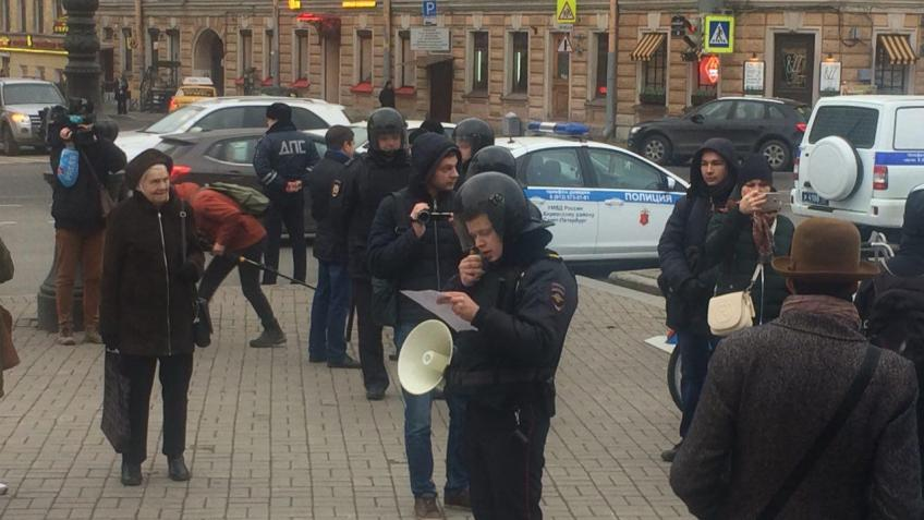 В северной столице задержаны 23 активиста «Другой России»
