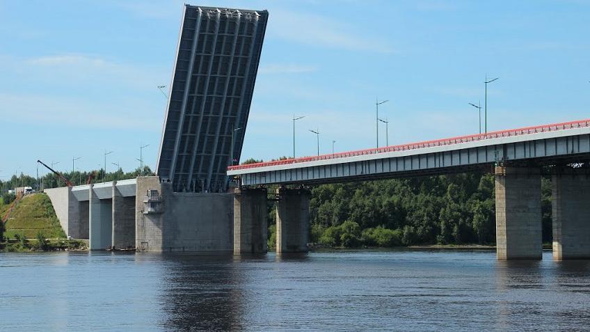Нафедеральной трассе «Кола» разведут Ладожский мост