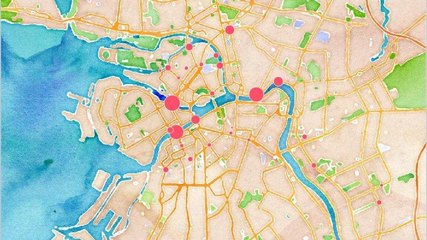 ВПетербурге участники сообщества «Велопедизация» поведали, где вгороде самое интенсивное движение