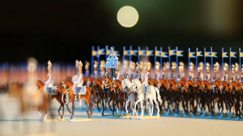 1-ый в Российской Федерации музей оловянных солдатиков появится вПетербурге