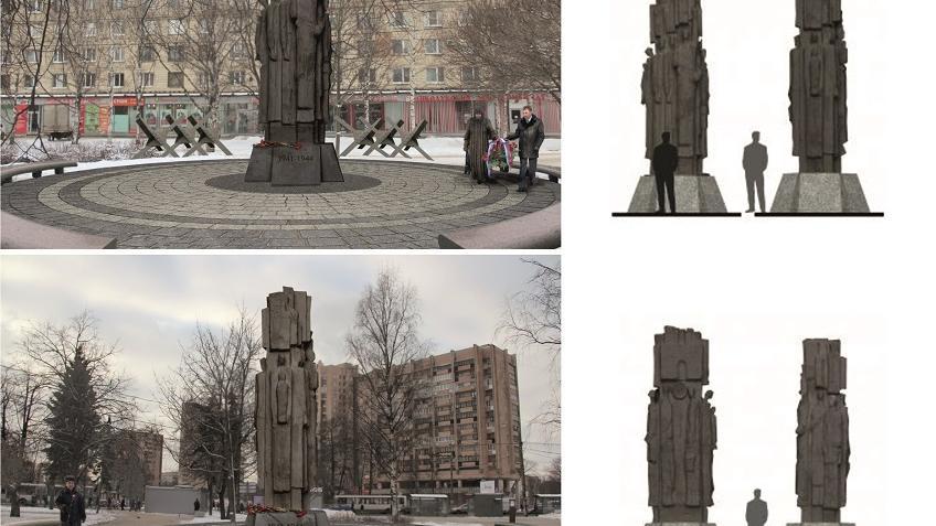 Наплощади Мужества появится монумент блокадникам