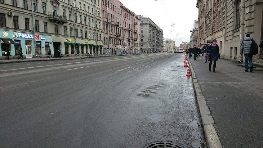ВПетербурге закрыли участок КАД