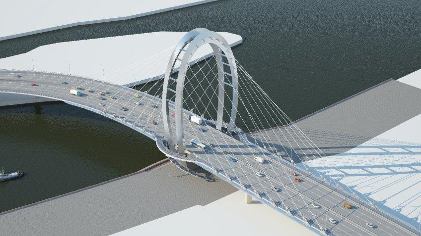 Серный мост откроют 30апреля