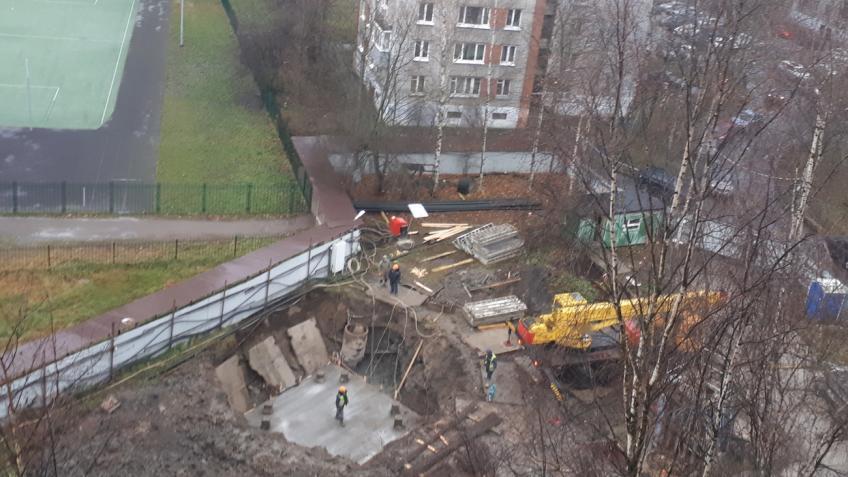 Упарка Александрино вПетербурге возобновили строительные работы. Градозащитники считают их нелегальными