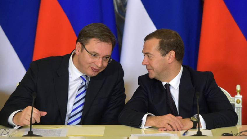 Вучич: Только благодаря президенту Путину наСербию обращается внимание