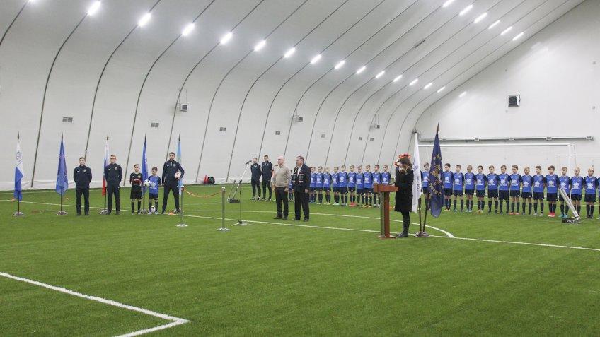 Всаду Спартак появился крытый футбольный стадион