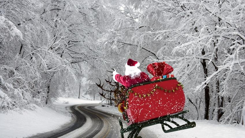 Дедушка Мороз изВеликого Устюга даёт старт новогодним праздникам— Санкт-Петербург