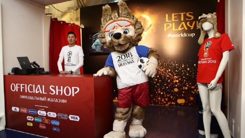 ВПетербурге открылись два магазина ссувенирами кЧМ